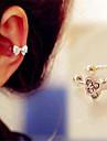 Femme Poignets oreille bijoux de fantaisie Imitation Diamant Alliage Forme de Noeud Bijoux Pour Quotidien
