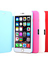 PU Leather Full Cover Case for iPhone 6(Assorted Colors)
