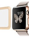 lien prime de 0.2mm rêve réel en verre trempé avec une couverture complète de protection écran de bord en métal pour montre de pomme