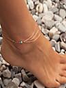 богемный ножной бирюзовый босиком сандалии невеста ножной 1шт ювелирные изделия