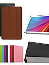 9.6-дюймовый тройной складной шаблон высокого качества PU кожаный чехол для Huawei MediaPad 10 t1 (разные цвета)