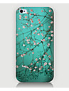 The Fmall White Flowers Pattern Case Back Cover for Phone4/4S Case