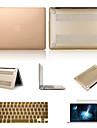 """높은 품질의 단색는 """"맥북 에어 13.3에 대한 화면 보호기 및 키보드 FLIM와 하드 케이스 PVC"""