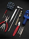 16pc Deluxe Adjust Watch Back Case Spring Bar Remover Opener Tool Kit Repair Fix Pin Link Remover Set Fashion Watch