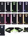 Для Кейс для  Samsung Galaxy Защита от удара Кейс для Задняя крышка Кейс для Армированный PC Samsung S5 Mini / S5 / S4 / S3 Mini / S3