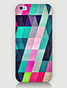 Geometric Pattern Phone Case Back Cover Case for iPhone5C