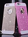 алмаз побрякушки блестки случай задней стороны обложки с отверстием для iphone 4 / 4s