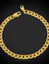 U7® Never Fade Men's Link Cuban Chain Bracelet for Men High Quality 316L Titanium Steel 5MM 21CM