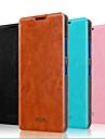 Para Capinha Nokia Com Suporte / Flip Capinha Corpo Inteiro Capinha Cor Única Rígida Couro Legitimo NokiaNokia Lumia 640 / Nokia Lumia