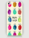 Color of Pineapple Pattern Phone Back Case Cover for iPhone5C