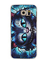 For Samsung Galaxy Case Pattern Case Back Cover Case Cat PC Samsung S6 edge / S6