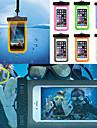 Pour Imperméable Avec Ouverture Coque Bolsa Coque Couleur Pleine Flexible Polycarbonate pour UniverseliPhone 7 iPhone 6s Plus/6 Plus