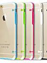 для iphone 7 ультра прозрачного свечения в темном случае для iphone 6с 6 плюс
