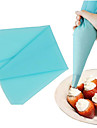 Small Size Cake Cream Decorating Pastry Tip Tool Silicone Piping Bag(1 Pc)