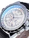 JARAGAR Fashion Luxury Brand Men's Analog Business WristWatch Leather Strap Automatic Mechanical Watches Wrist Watch Cool Watch Unique Watch