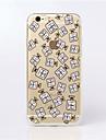Pour Coque iPhone 6 / Coques iPhone 6 Plus Ultrafine / Transparente / Motif Coque Coque Arrière Coque Carreaux Flexible TPUiPhone 6s