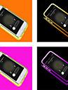 For iPhone 6 Case / iPhone 6 Plus Case LED Flash Lighting / Transparent Case Full Body Case Solid Color Soft TPUiPhone 6s Plus/6 Plus /