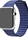 Leather Loop for Apple Watch 38mm 42mm Genuine Leather Replacement Strap