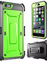 Выдерживает падение с высоты случай телефона падение следующие loricated для iphone 6 (ассорти цветов)