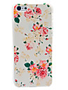 Beautiful Flower Pattern Hard Case for iPhone 5C