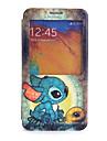 Desenhos animados da tartaruga Pattern Caso de corpo inteiro para Samsung i9600 S5