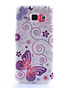 For Samsung Galaxy Case Pattern Case Back Cover Case Butterfly TPU Samsung J1 / Grand Prime / Core Prime / Core 2 / Alpha / Ace 4