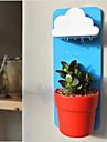 Красный/Зеленый/Синий - Пластик - Стикер на стену - Мультфильмы -