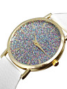 Watch Women Starry Flash Diamond Leather Watch Student Quartz Watches Montre Femme Cool Watches Unique Watches