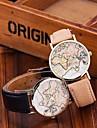 Fashion World Map Watch Relogio Feminino Women Watches Quartz Watches Reloj Mujer Cool Watches Unique Watches Strap Watch