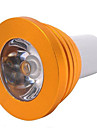 5W E14 / GU10 / E26/E27 LED Spotlight MR16 1 High Power LED 300 lm RGB Dimmable / Remote-Controlled AC 85-265 V 1 pcs