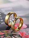 Кольца для пар ( Нержавеющая сталь ) - Свадьба / Для вечеринок / Повседневные