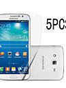 삼성 갤럭시 그랜드 프라임 G530에 대한 깨끗한 천에 5PCS 높은 투명 LCD 맑은 화면 보호기