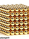 3mm 216pcs magnetiske kuler med gaveeske (Assorterte farger)