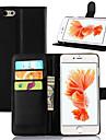 Para iPhone 8 iPhone 8 Plus iPhone 6 Plus Case Tampa Corpo Inteiro Capinha Rígida Couro Ecológico para iPhone 8 Plus iPhone 8 iPhone 7
