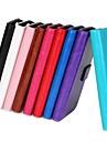 iphone 7 mais superfície de luz de cor YMX-sólido couro pu caso da carteira de corpo inteiro para o iPhone 5 / 5s
