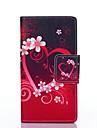 Pour Coque Huawei P8 Lite Etuis coque Portefeuille Porte Carte Avec Support Clapet Coque Intégrale Coque Cœur Dur Cuir PU pour Huawei