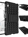 Heavy Armor caso capa dura dever para 2015 Sony Xperia z5 E6603 e6633 e6653 e6683 silicone protetora da pele dupla cor