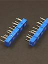 10kohm потенциометров регулируемые резисторы набор - синий (10 шт)