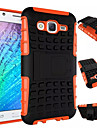 Armor Case Hybrid Kickstand Display Cover Combo Hard PC + TPU Case For Samsung Galaxy J1/J5/J7/E5/E7