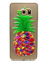 Pour Samsung Galaxy Coque Transparente Coque Coque Arrière Coque Fruit PUT pour Samsung S6 edge plus S6 edge S6 S5 Mini S5
