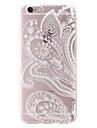 """Folk Style Painting Transparent Soft TPU Back Cover for iPhone 6/6S 4.7"""""""