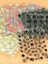 Абстракция - 3D наклейки на ногти - Пальцы рук / Пальцы ног - 9.5*7CM - 50 - Прочее