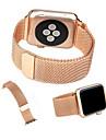 Boucle milanaise pour Apple Watch 38mm 42mm bande de montre en acier inoxydable