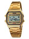 SKMEI Masculino Relógio Esportivo Relógio de Pulso Relogio digital Digital LCD Calendário Cronógrafo Impermeável alarme Relógio Esportivo