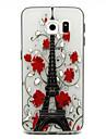 Pour Samsung Galaxy Coque Motif Coque Coque Arrière Coque Tour Eiffel PUT pour Samsung S6 edge plus S6 edge S6 S5 Mini S5