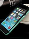 Для Кейс для iPhone 6 / Кейс для iPhone 6 Plus Защита от удара / Ультратонкий Кейс для Бампер Кейс для Один цвет Мягкий TPUiPhone 6s