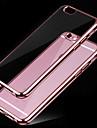 iphone 7 плюс супер мягкий тонкий металлизированный материал TPU телефон случае для iphone 6 / 6с