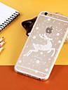Pour Coque iPhone 6 Coques iPhone 6 Plus Etuis coque Transparente Motif Coque Arrière Coque Noël Flexible PUT pouriPhone 6s Plus iPhone 6