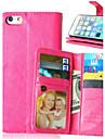 alta qualidade pu carteira de couro caso de telefone coldre Mobile para iPhone 6 / 6s (cores sortidas)