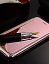 용 아이폰6플러스 케이스 도금 / 거울 / 플립 케이스 풀 바디 케이스 단색 하드 메탈 iPhone 6s Plus/6 Plus / iPhone 6s/6